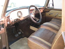 Freshly restored interior