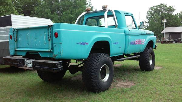 last weekend I went and looked at a 1961 f100 4x4 was for sale on
