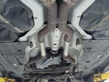 2009 Benz ML63  Resonator & Muffler  Deleted