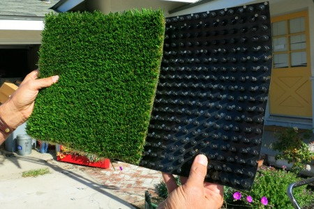 The 411 on fake lawns doityourself putting in a fake lawn artificial turf waterless turf pet turf vic solutioingenieria Choice Image