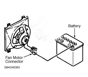 ford f150 f250 how to replace your radiator fan