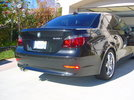 M Rear Spoiler and M Trunk Finisher