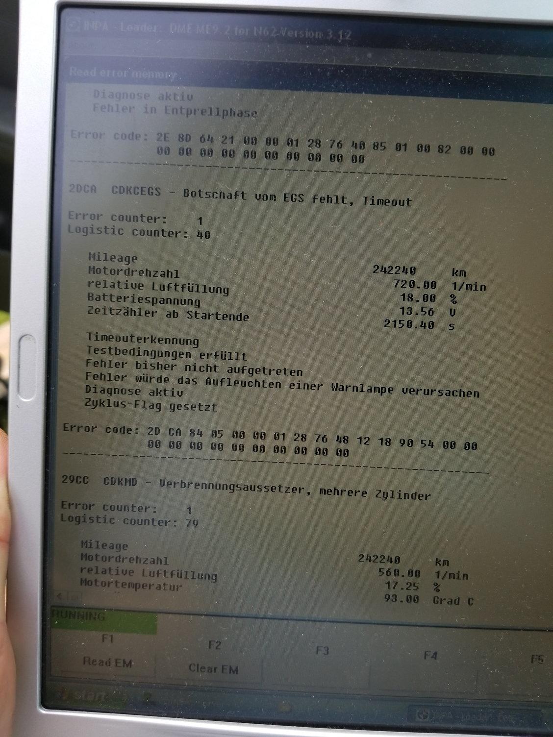 07 550I transmission fault after upgrades - Page 5 - 5Series net