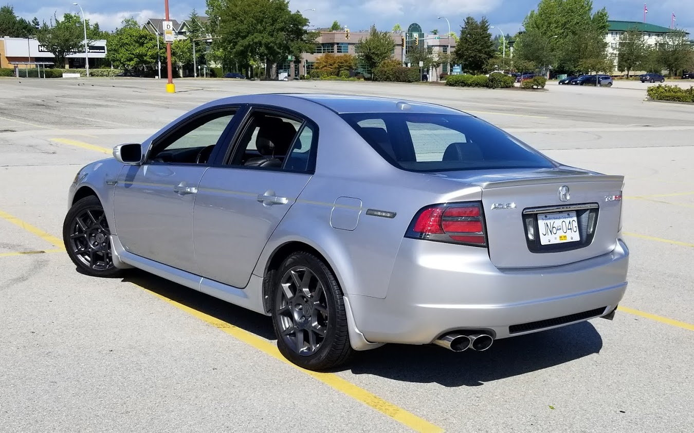 CLOSED: 2008 Acura TL Type S 6MT - 85000miles - CANADIAN ...
