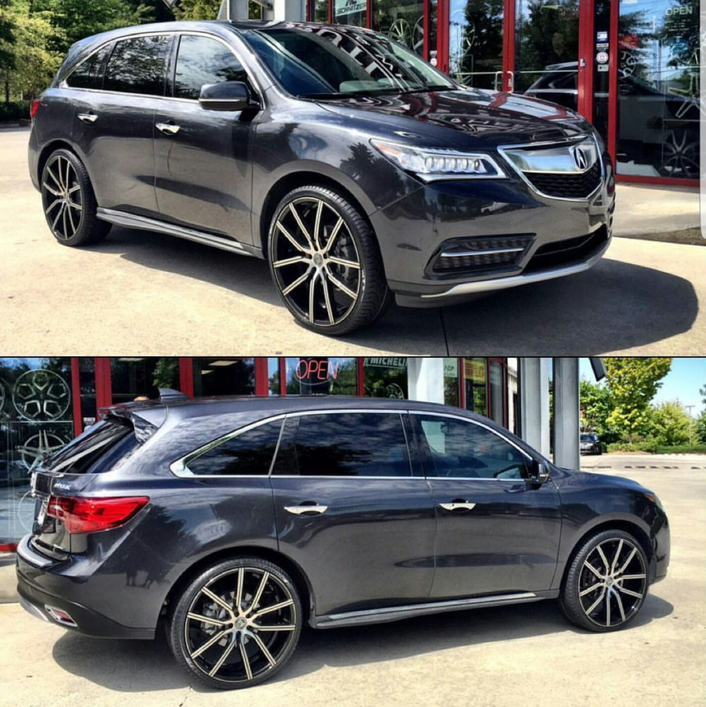 2016 Mdx Sh Awd With 24 Quot Wheels Acurazine Acura