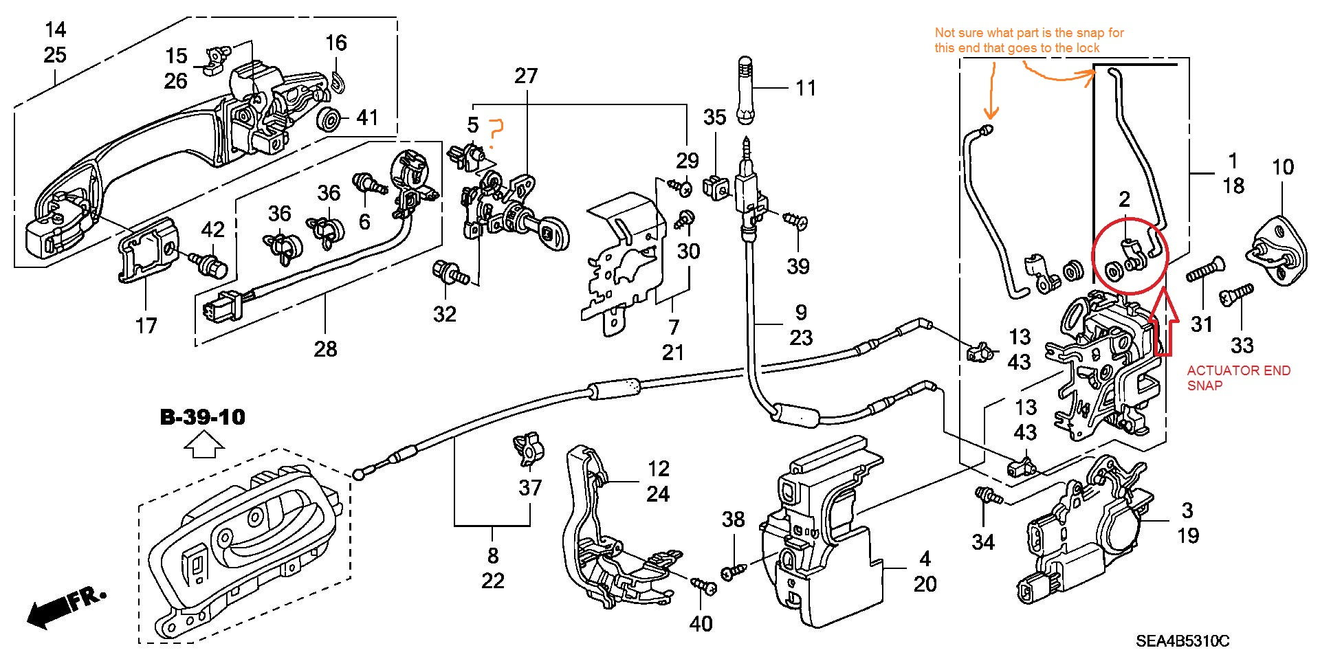 F-179: DIY-Pass. Door Lock Actuator Replacement, W/ Pics ...