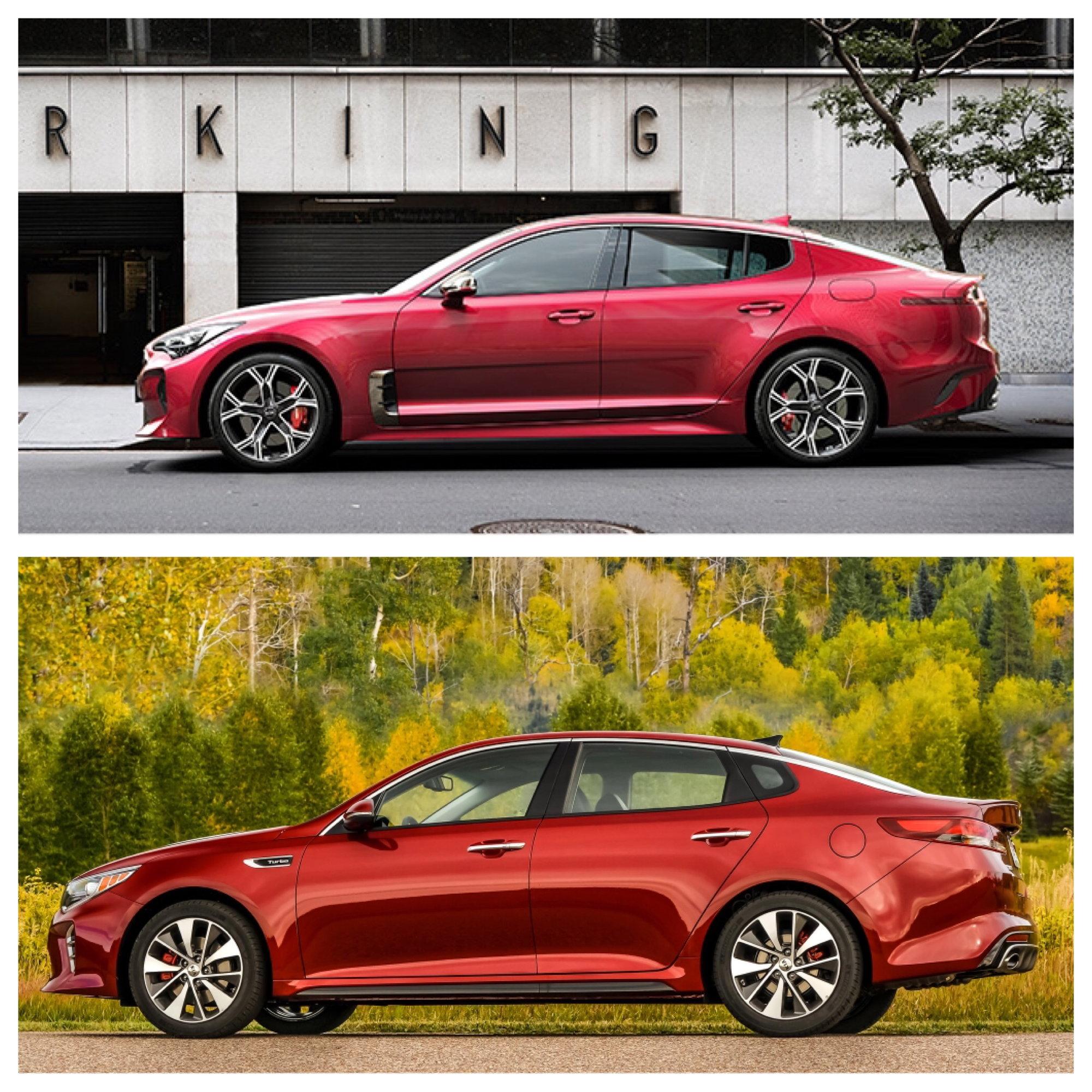 2018 Acura TLX Vs Kia Stinger. Thoughts?
