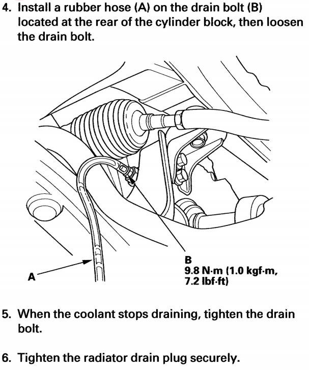 2000 acura tl radiator drain plug location wiring diagram
