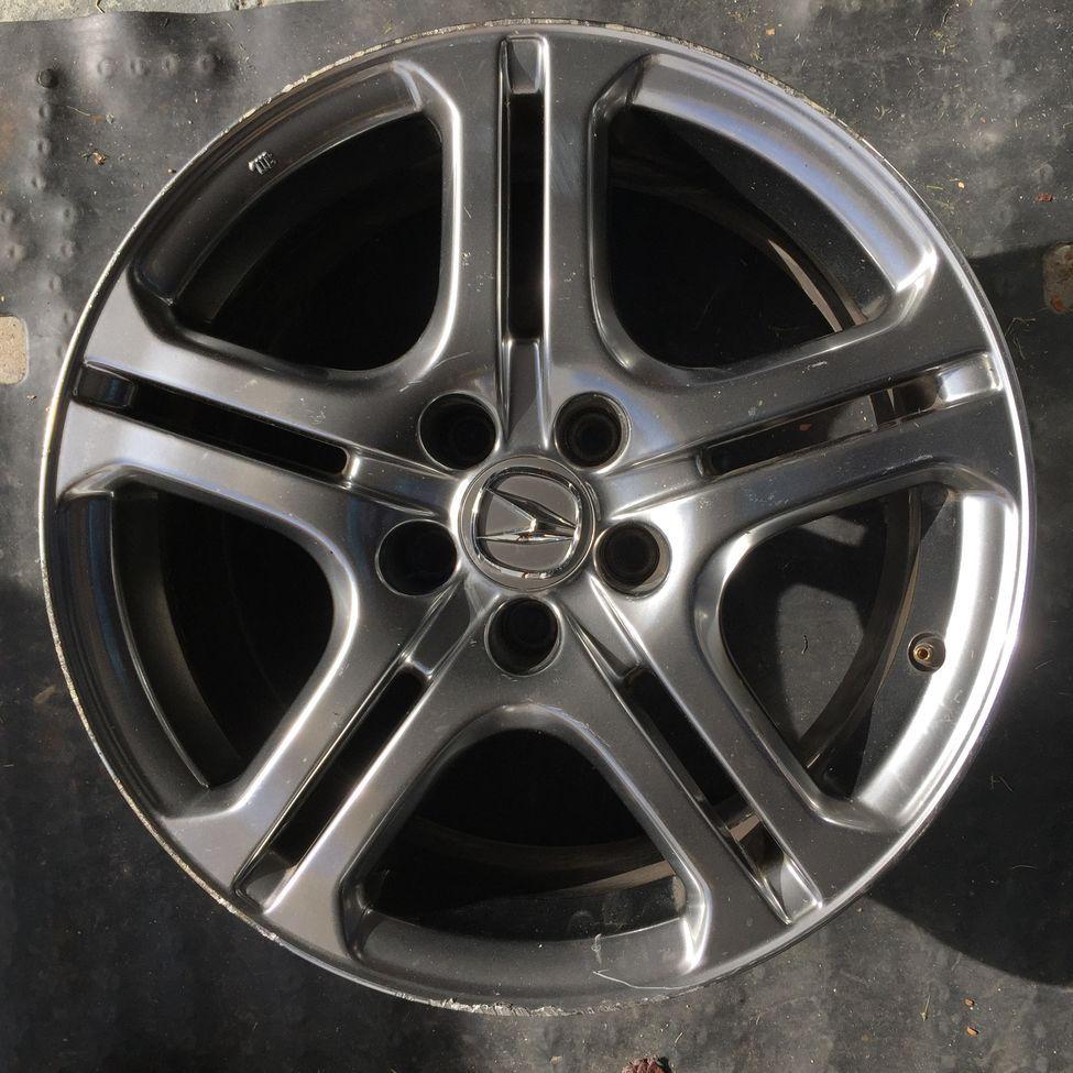 FS: Acura TL A-spec Wheels (Hyper Silver) 18x8 +45