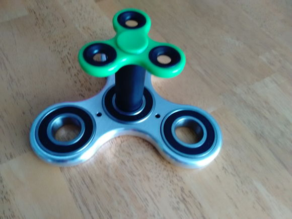 Oversized fidget spinner