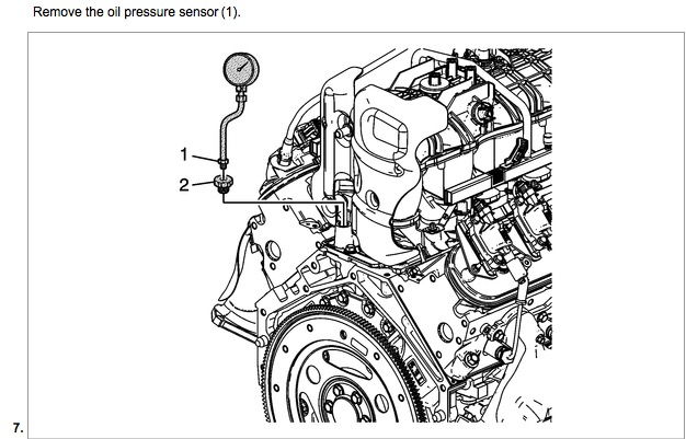 2005 Chevy Silverado Oil Pressure Switch Location Wiring