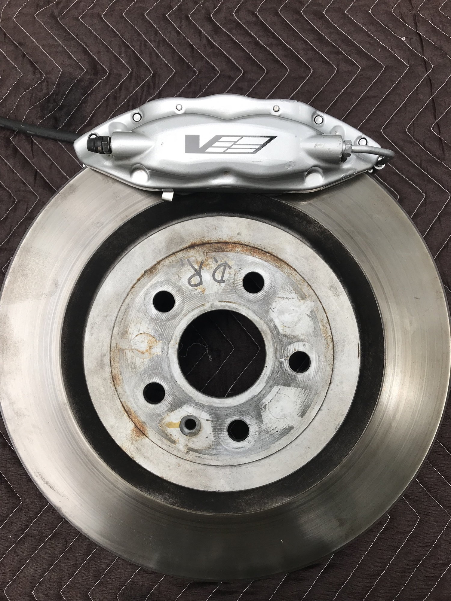 Cadillac Cts V Used >> Complete CTS-V/ZL1 Brembo Brake system including calipers, rotors, adapter brackets ...