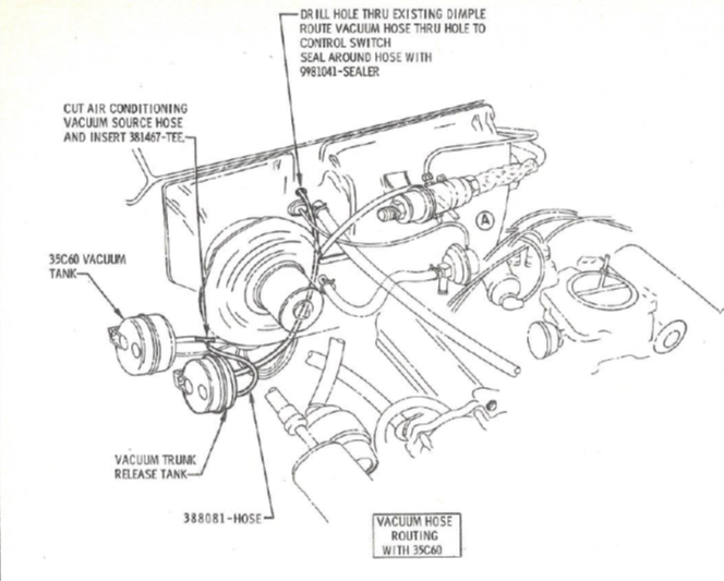 1967 Olds Delta 88 Vacuum Diagram