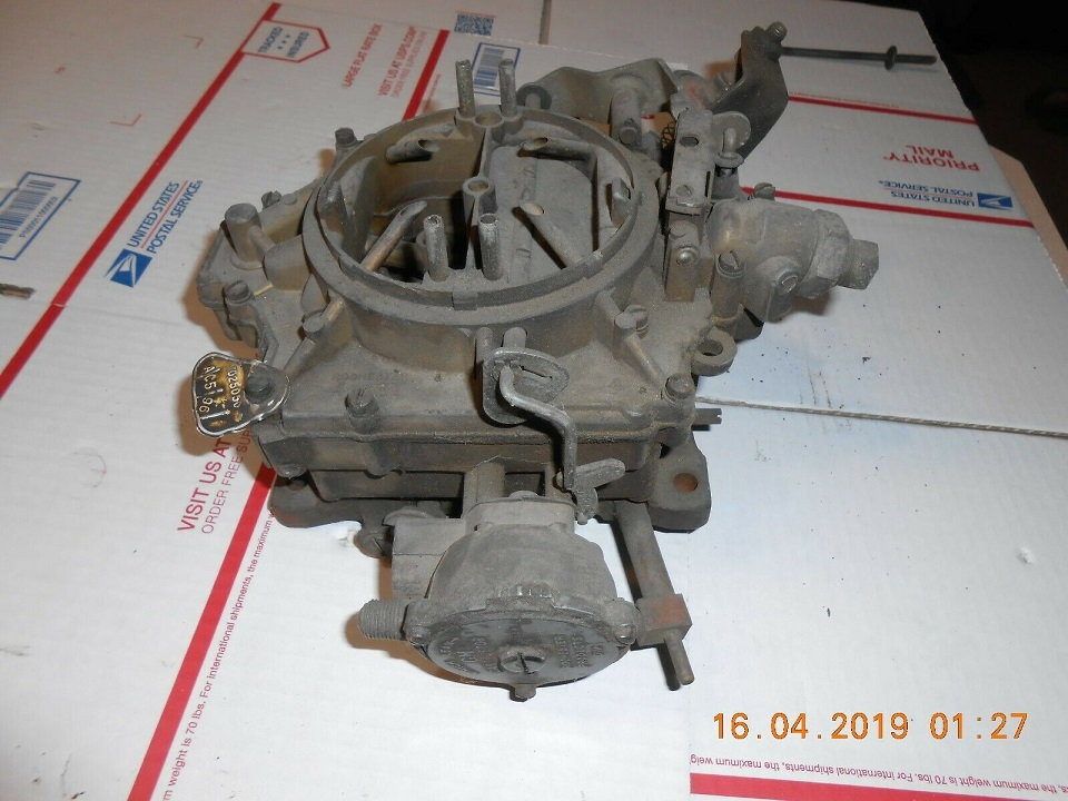 """1964 65 CARB KIT OLDSMOBILE ROCHESTER 4GC 4JET  330/"""" ENGINE DOES 6 DIFF MODELS"""