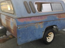 68 Dodge pickup bed for sale