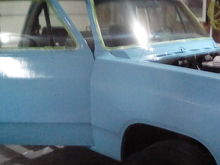 Sorry, blurry. Two coats on the passenger side