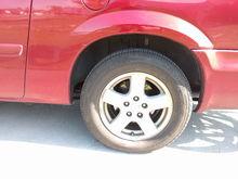 39.5 psi in rear tires.