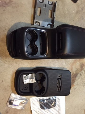 2014 Durango 2nd Row Center Console Removal Page 4