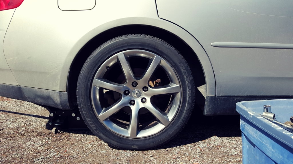 Best wheel paint and clear coat for matte? - G35Driver