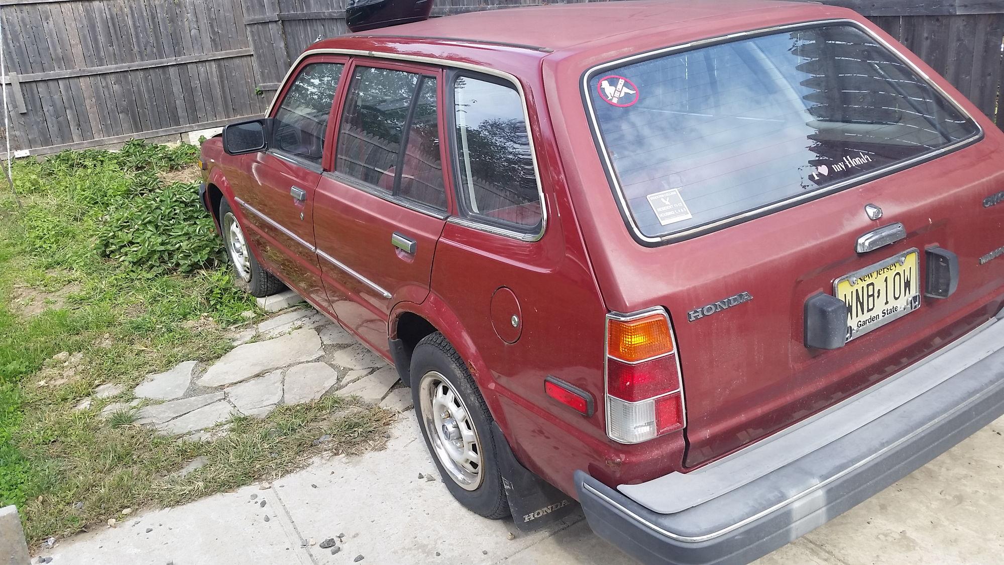 new to forum. 1982 Honda civic wagon. need ideas - Honda ...