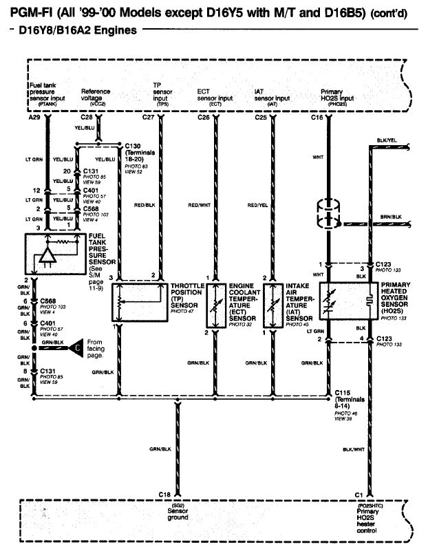 D16a6 Engine Wiring Harness Diagram on d15b7 wiring harness