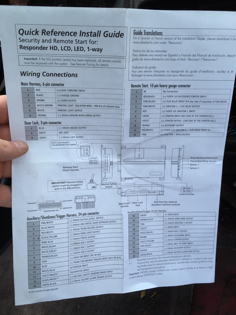 With Viper 5706v Wiring Diagram On Wiring Diagram For 06 Honda Accord