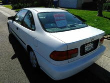 1998 Honda Civix Dx for Sale Sacramento Area