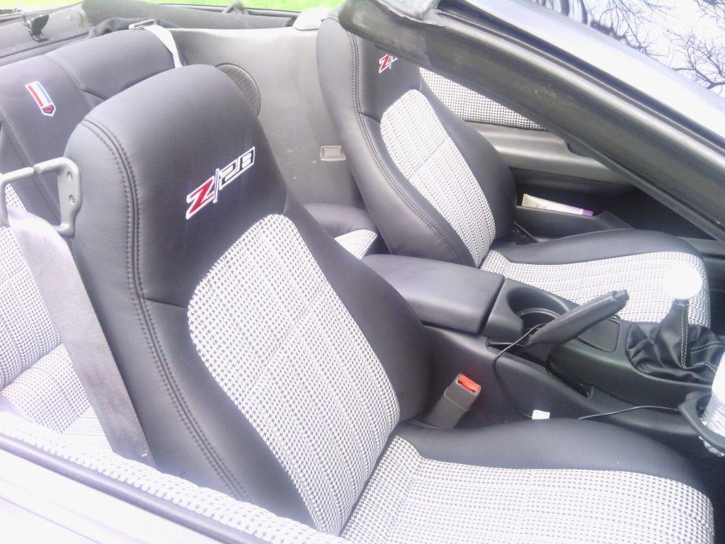 4th Gen Camaro Seat Covers Velcromag