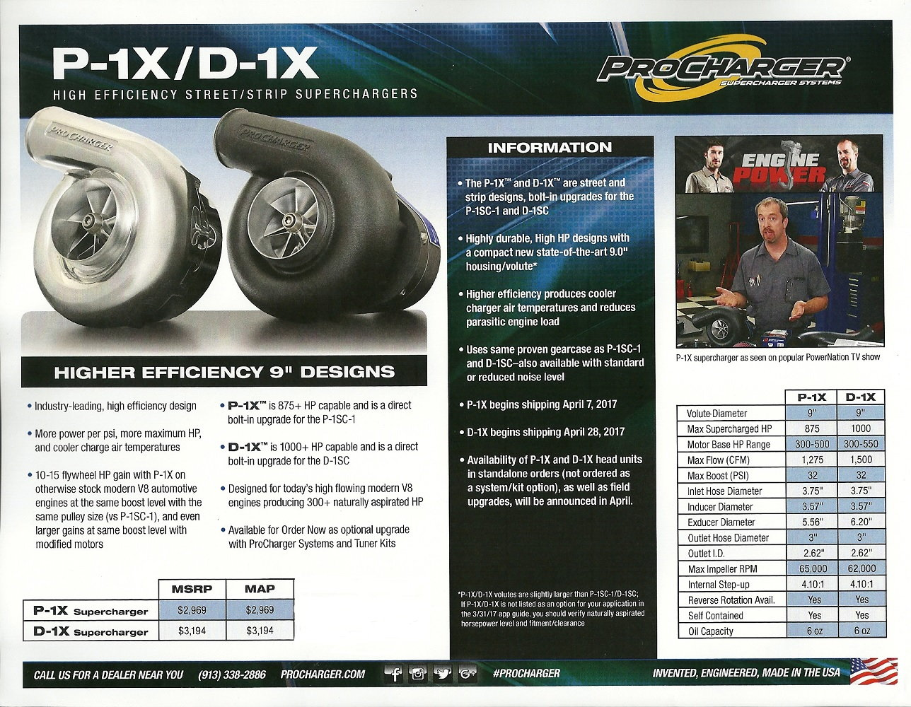 ProCharger Announces New & Upgraded D1X and P1X - LS1TECH