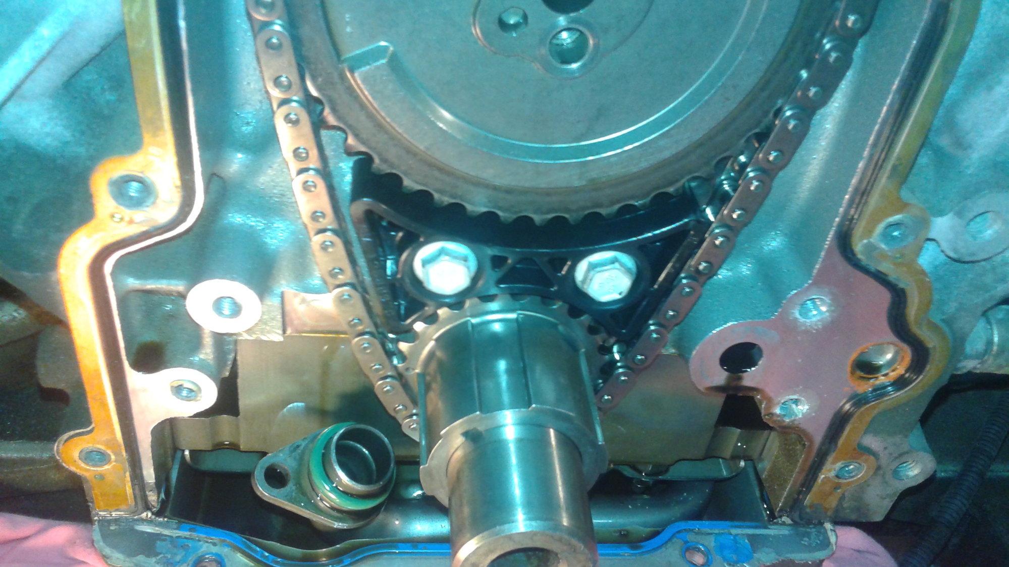 ls3 timing chain tensioner problem - LS1TECH - Camaro and Firebird