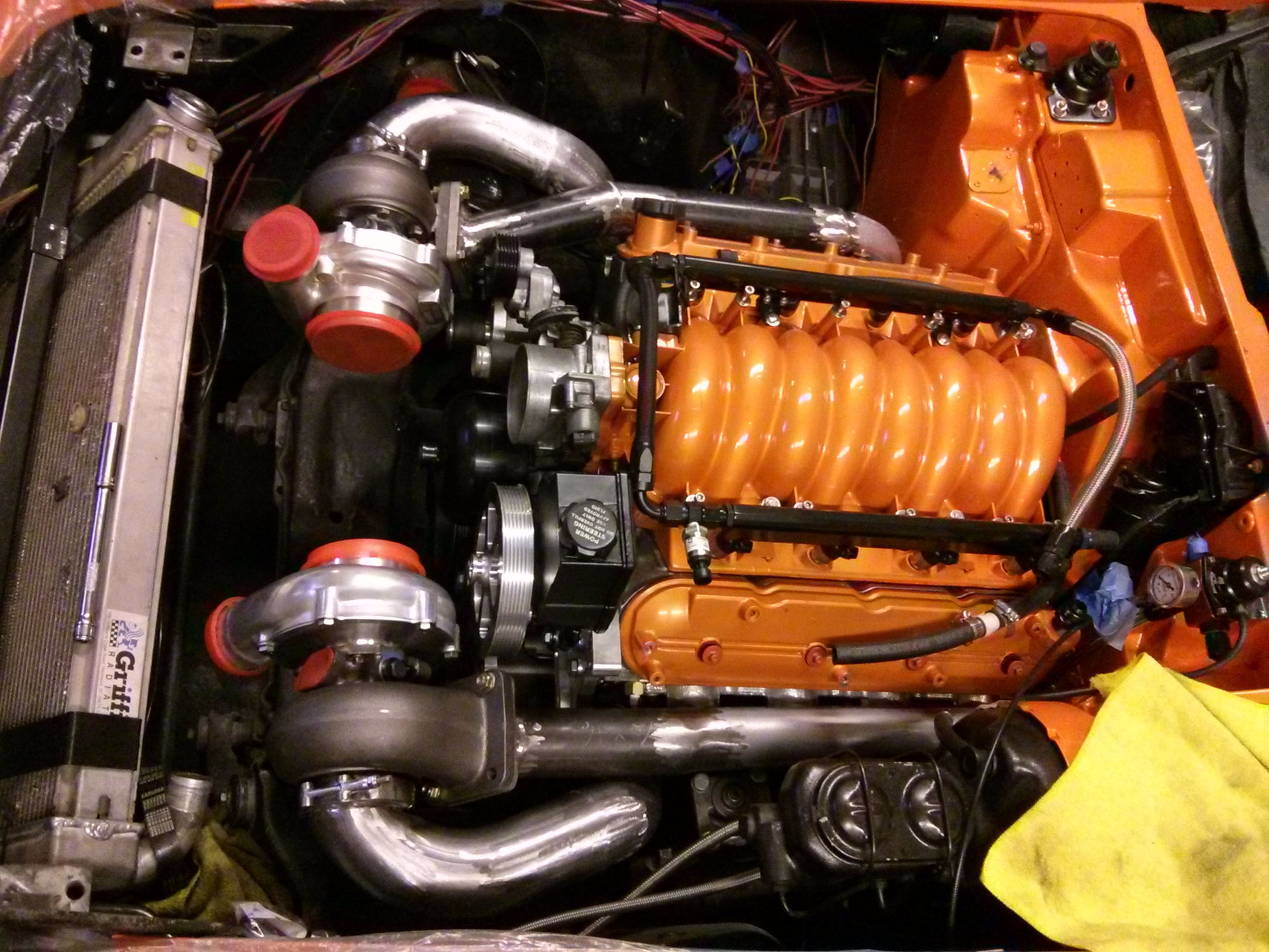 Twin Turbo C3 Vette Build In Progress Ls1tech Camaro