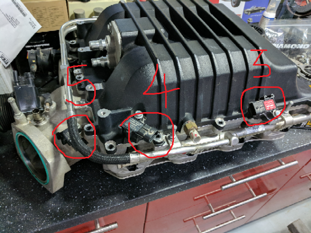 LS3 to LSA conversion, wiring the extra sensors on the
