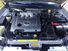 Very clean engine bay