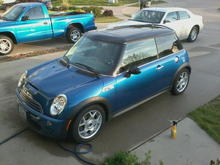 the day after I bought her circa april 2012