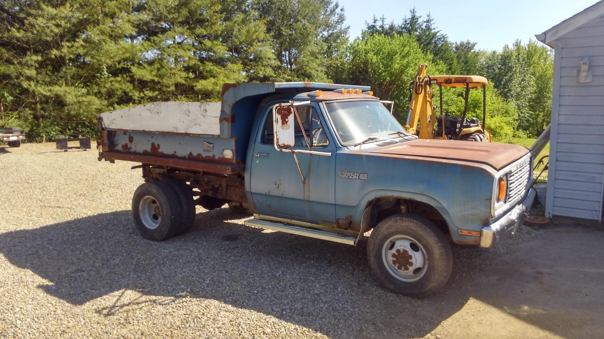 78 Did Power Wagon W400 Dump Truck Mopar Forums