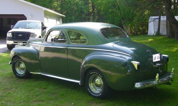 August mopar forums for 1941 chrysler royal 3 window coupe