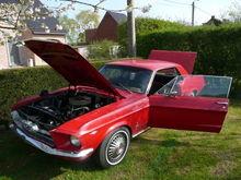 '67 mustang V8
