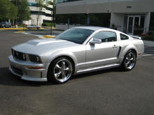 2007 Silver Mustang