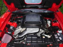 Super clean engine.