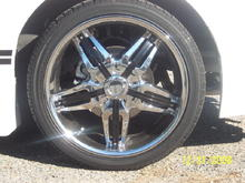"20"" Mezzano Wheels"