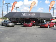 Foose Stallion Mustangs at the Last Ciener-Woods Ford Mustang Reunion.