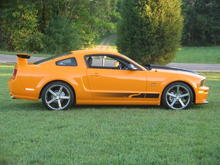 2007 Steeda Q-Series Mustang Last Year before on of the Pilot Cruise-Ins