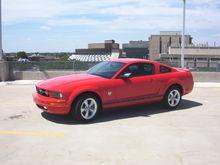 Garage - QPublik's Mustang