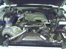 302 5.0L supercharged....