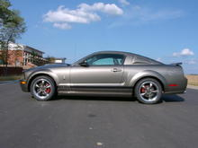 2005 Mustang GT (350) Side view