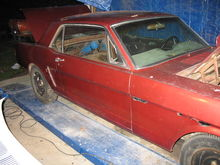 65 Mustang Coupe Project