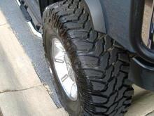 """Hummer 37"""" Tires"""