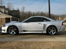 03 Kenne Bell Supercharged Saleen Mustang
