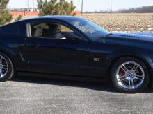 New Wheels - 2010 GT500