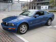 Garage - Blue GT
